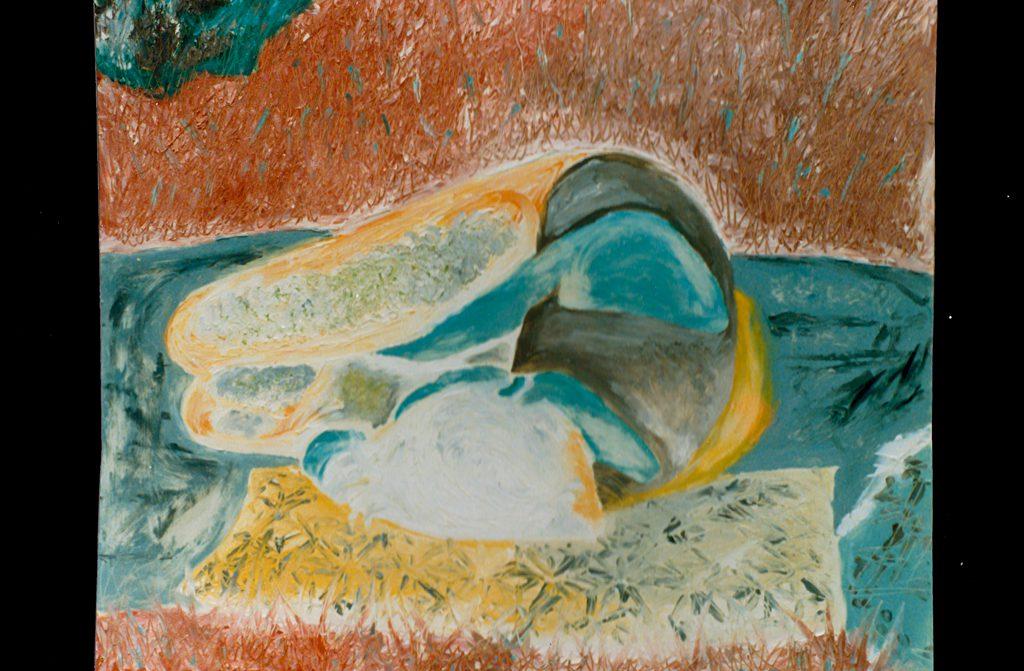Sleeping Girl Painting Bernd Schimmelpfennig 1987
