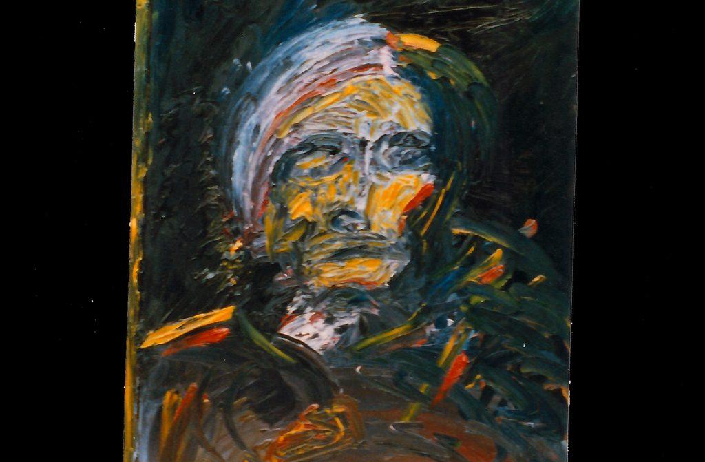Warhol Painting Bernd Schimmelpfennig 1988