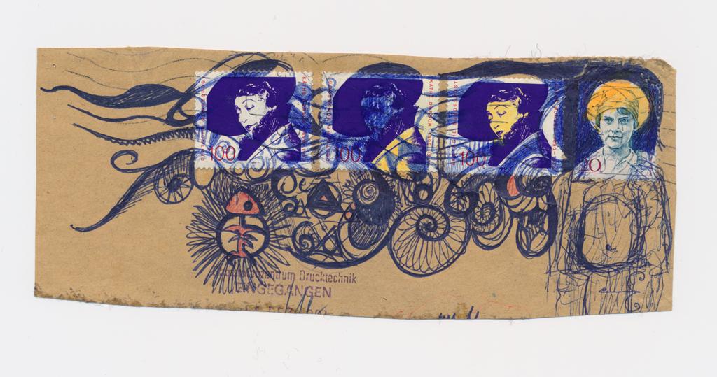 Sketch Illustration Bernd Schimmelpfennig 1990
