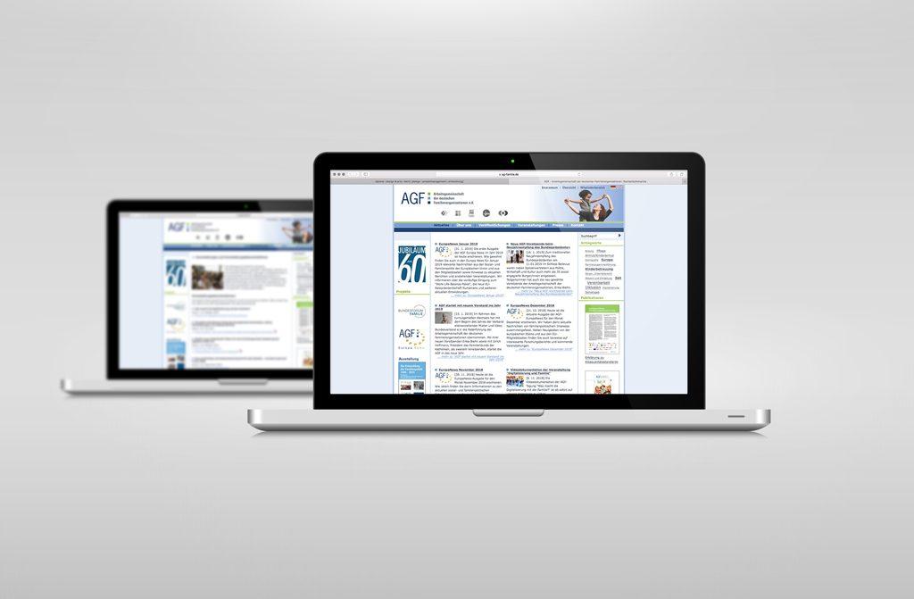 AGF e.V. website 2010 dabone |design & arts | berlin