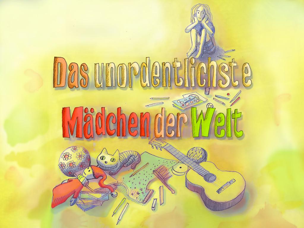 Illustration Das unordentlichste Mädchen der Welt dabone  design & arts  berlin 2011