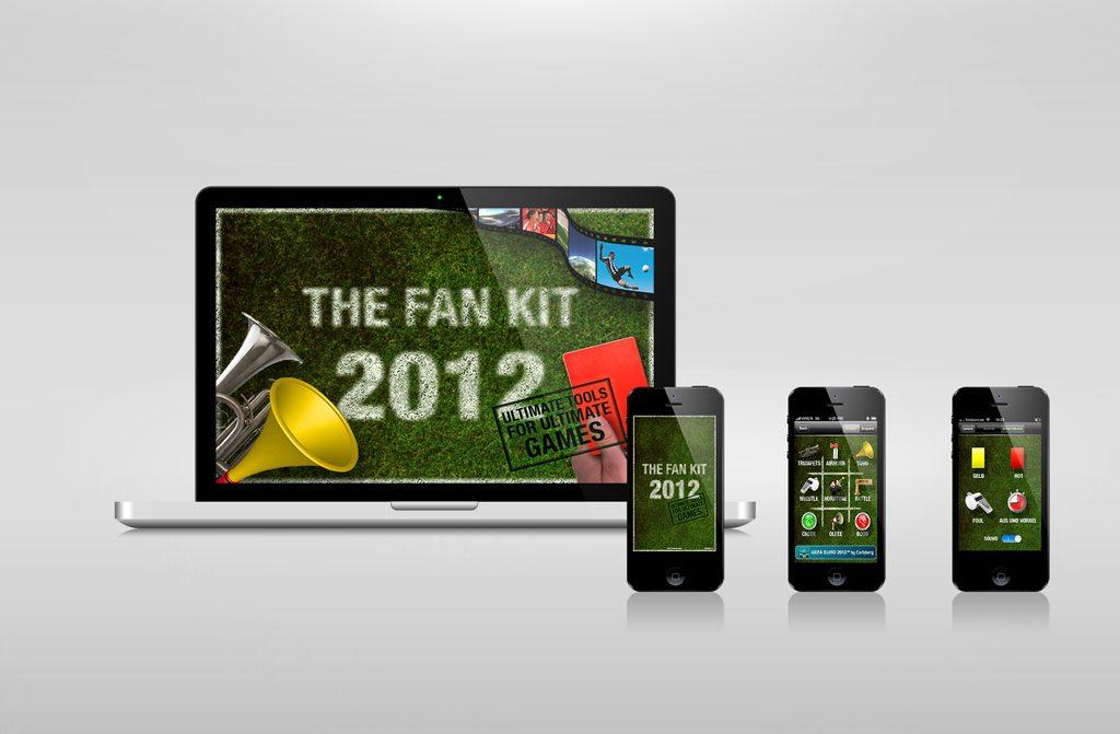 The Fan Kit iOS UI-Design motain GmbH & Co. KG 2012