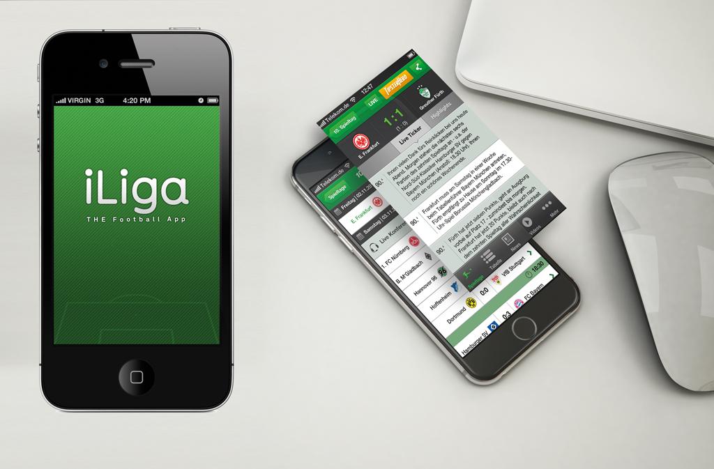 iLiga iOS UI-Design motain GmbH & Co. KG 2012