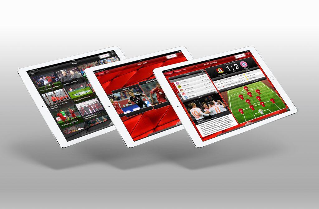 Bayern München iOS UI-Design motain GmbH & Co. KG 2012