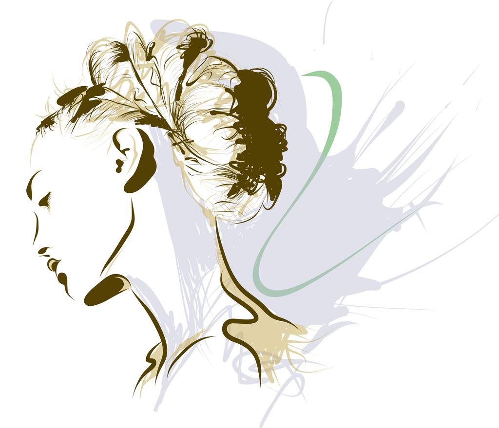 Illustration Girl Bernd Schimmelpfennig 2013