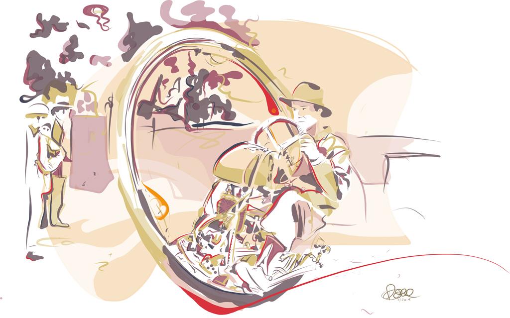 Perfect Circle Illustration Bernd Schimmelpfennig 2013