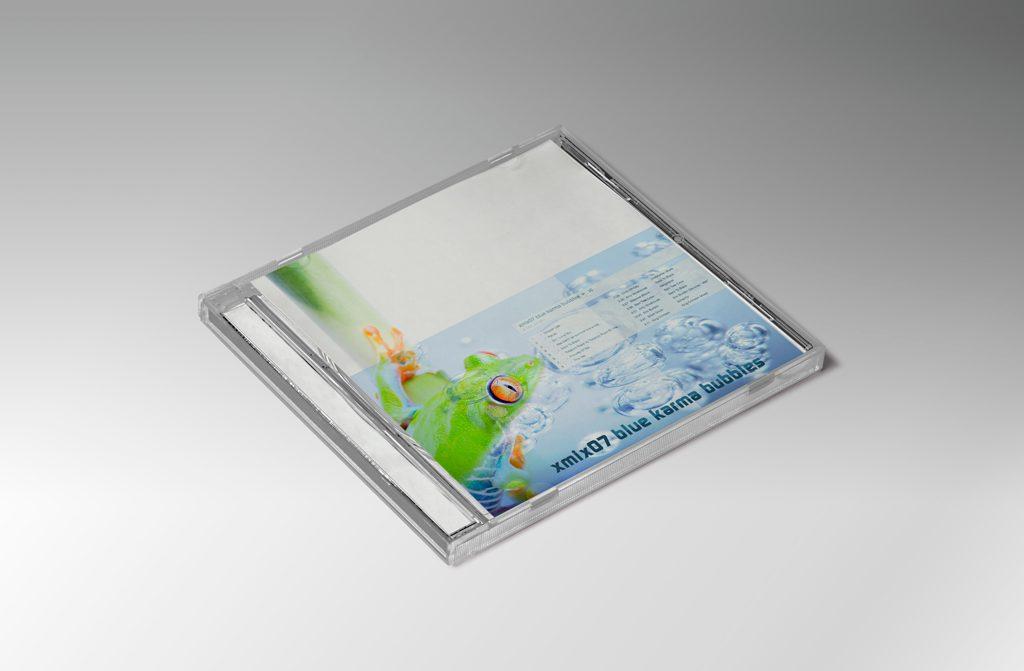 Blue Karma Bubbles CD Cover Bernd Schimmelpfennig 2014