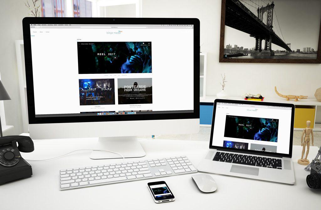 Blitzar Media Website dabone |design & arts | berlin 2016
