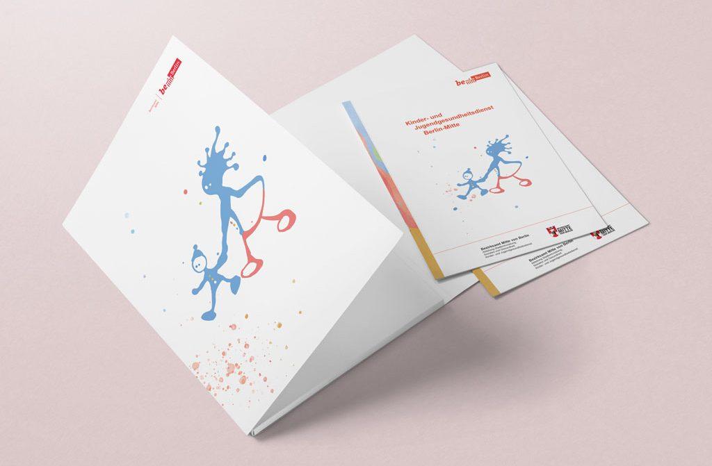 Folder - Bezirksamt Berlin Mitte 2019 - dabone |design & arts | berlin